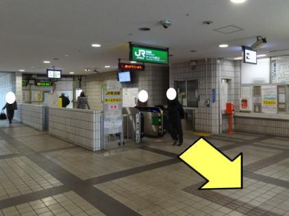 ターミナル改札口2